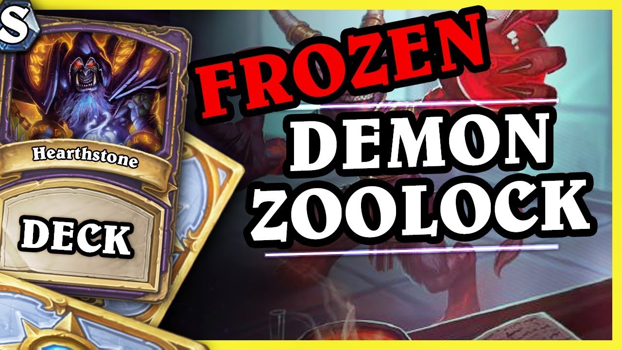 Frozen TOP50 Demon Zoolock – Hearthstone Deck Std (K&C)