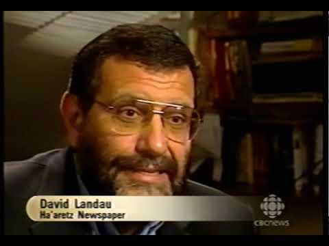 Prof. Gerald Steinberg, CBC, interviewed about Ariel Sharon's policies, 2003