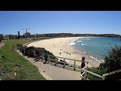 Virtual Treadmill Walk - Bondi Beach, Sydney Australia