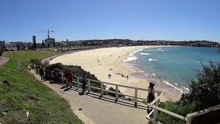 Virtual Treadmill Walk - Bondi Beach, Sydney Australia