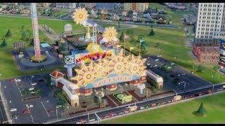 SimCity 5 - Amusement Park DLC - Sim City 2013 - HD