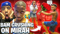 FOUND OUT BAM HAVE A CRUSH ON MIRAH!💔