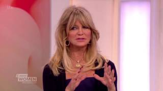 Goldie Hawn Discusses Revenge Porn And The Dangers To Children Online | Loose Women