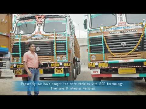 Ashok Leyland Customer Testimonial Lucknow - iEGR