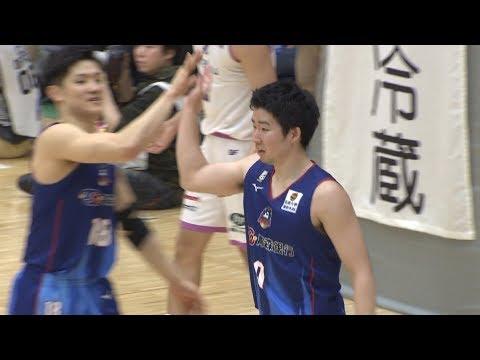 【B2ハイライト】04/06 青森 vs 福島(18-19 B2第30節)