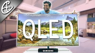 "Samsung QLED Q7F - 65"" Ultra Premium 4K TV - Unboxing and Hands On Overview!!!"