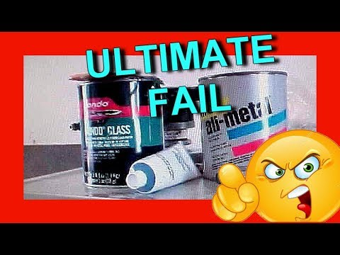All Metal Body Filler vs Dyna Glass Bondo - ULTIMATE FAIL - Part 1 (Live Lesson Fridays 5)