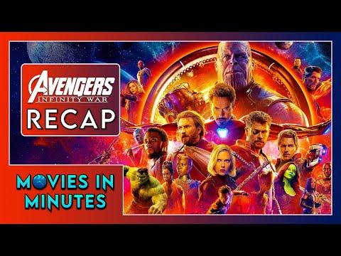 AVENGERS: INFINITY WAR in 4 minutes (Movie Recap)