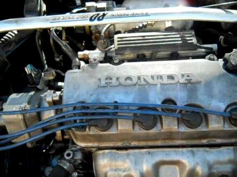 96 Honda Civic Ex Vtec Idle Problems Youtube