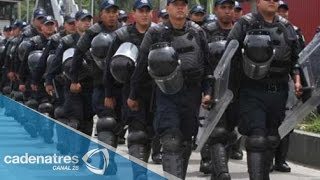 Operativo de seguridad en el D.F. por las fiestas patrias