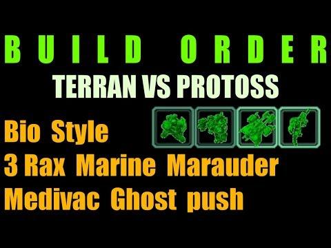 Bio Style 3 Rax Marine Marauder Medivac Ghost push [TvP]