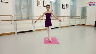 Children Ballet Class, for age 6 to 7