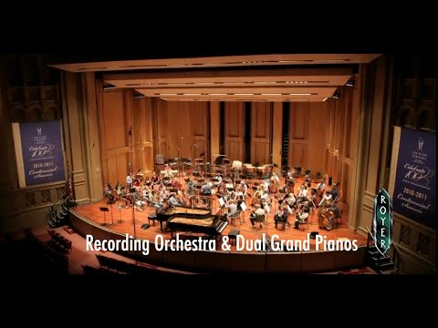 Recording an Orchestra using Royer ribbon microphones, with engineer Robert Friedrich