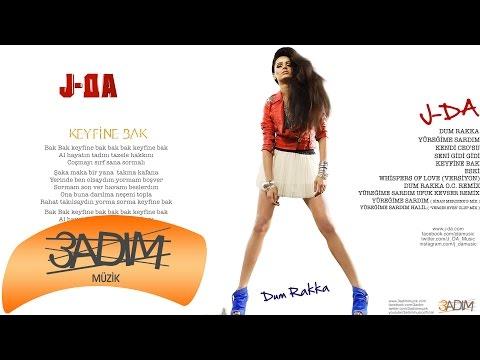 J-DA - Keyfine Bak ( Official Lyric Video )