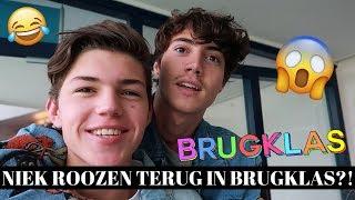 NIEK ROOZEN TERUG IN BRUGKLAS?! BRUGKLAS BACKSTAGE #3 | Vincent Visser