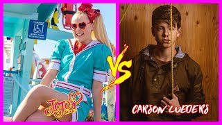 Jojo Siwa vs Carson Lueders From 1 to 17 Years old - Star News