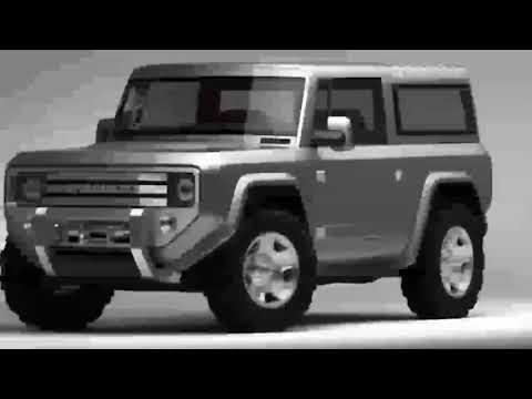 HOT CAR !! 2020 Ford Bronco Concept