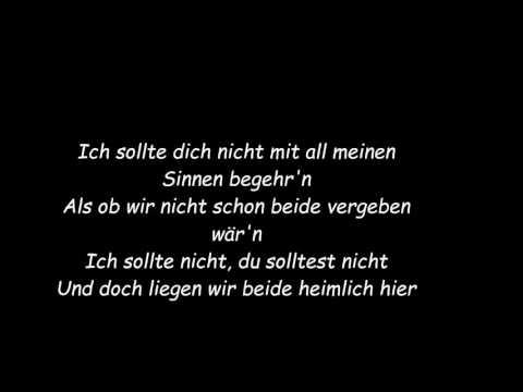 Roland Kaiser feat. Maite Kelly - Warum hast du nicht nein gesagt (Karaoke,Lyrics)