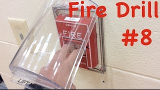 School Fire Drill #8: Pulling the Door 10 Fire Alarm & STI Stopper!