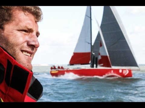Charles Caudrelier speaks about Dongfeng competing in the Artemis Challenge