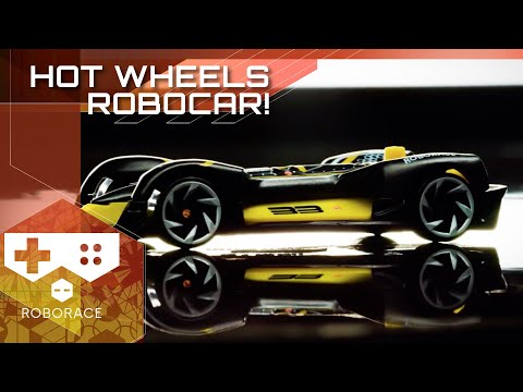 Check Out The New Roborace Diecast Hot Wheels Car