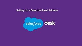 Setting Up a Desk.com Email Address