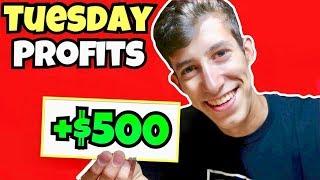 My Tuesday Day Trading Profit Recap June 2018
