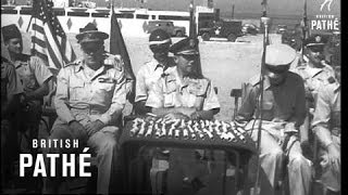 Us Army Trains Lebanese Troops In Use Of M-41 Tanks (1958)