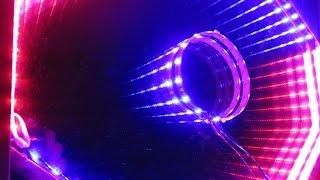 كيف تصنع مرآة مضاءة اللانهاية بمصابيح led