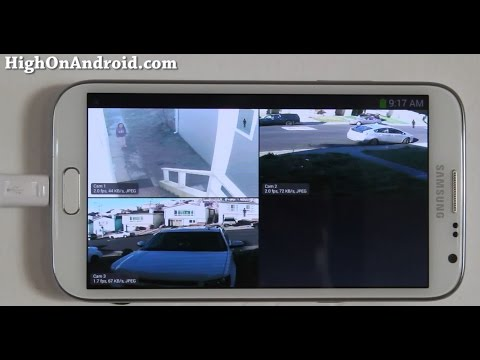 How to Recycle Android into Security Camera Liveview!