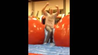 Wipeout Run, Aka Big Baller, From Extreme Inflatables!