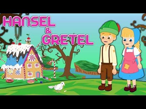 Hansel e Gretel - Historia completa - Desenho animado infantil com Os Amiguinhos