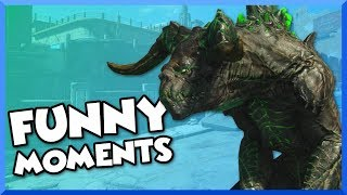 Fallout 4 Funny Moments - World to Come Quest Mod, Jetpack Kills, and Giant Legendary Deathclaw!