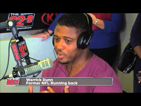 Former Falcon and FSU Running Back Warrick Dunn on 92-9 The Game