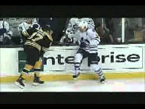 2011-12 NHL Hits and Fights (top 10)