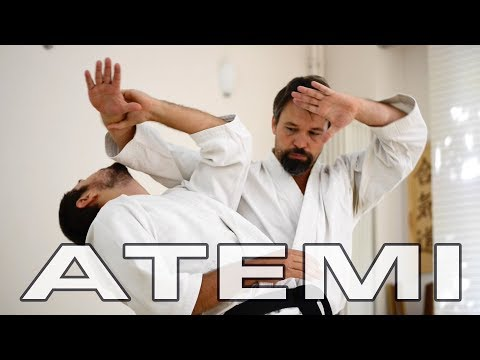 Aikido Atemi and Pressure Points - Striking Techniques and Kyusho - Gyakuhanmi Katatedori