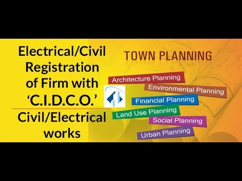 Registration of firm with CIDCO