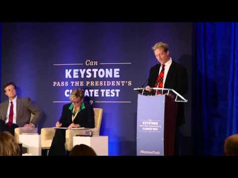 """Can Keystone Pass the President's Climate Test?"" Tom Steyer Keynote"