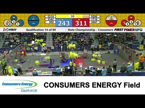2018 MSC Consumers Energy Field Qualification Match 14