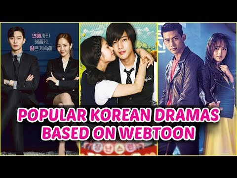 Popular Korean Dramas Based on Webtoon & Manga Might You Don't Know