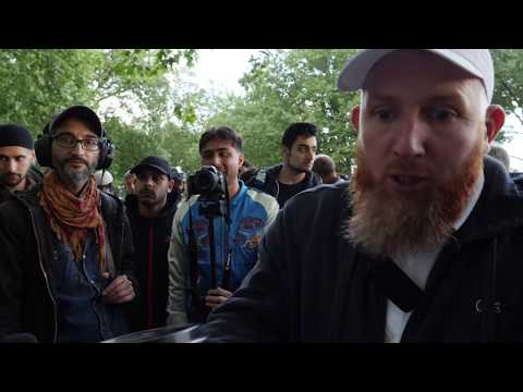 Speakers Corner - Rob (Atheist) talks to Hamza (Muslim) - Science and belief