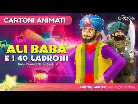 Alì Baba e i 40 Ladroni storie per bambini - Cartoni Animati - Fiabe e Favole per Bambini