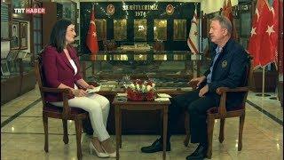 TRT Haber Özel Röportajı - 12.08.2019 - Milli Savunma Bakanı Hulusi Akar