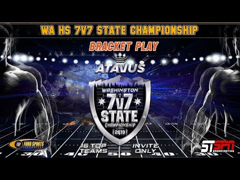 Bracket Playoff Semi-Final WA State 7v7 2019