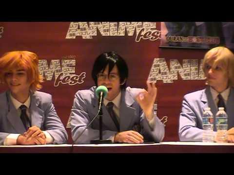 AnimeFest 2015 - Ouran Hosts The Black Magic Club