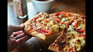 ДОМАШНЯЯ ПИЦЦА! Как приготовить пиццу? Легко! Смотри рецепт для начинающих