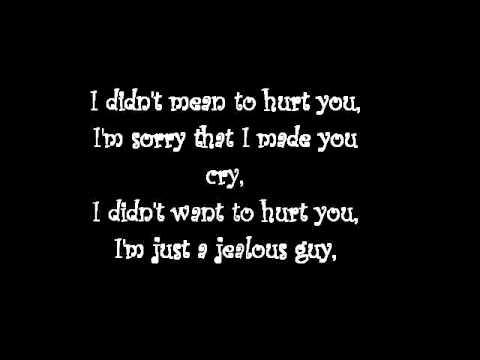 Jealous Guy Aiden Grimshaw Lyrics Youtube