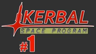 Let's Play Kerbal Space Program (Science Mode!) - Episode 1