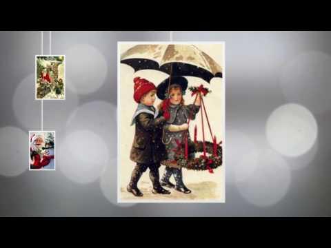 Старинные открытки С Новым годом и Рождеством!
