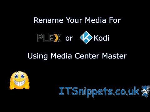 Managing Your Media Center With Media Center Master [Renamer alternative] (@ytcreators, @youtube)